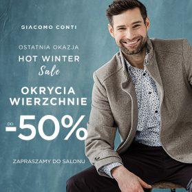 Zapraszamy do salonu mody męskiej Giacomo Conti