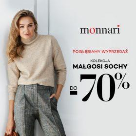 Wyprzedaż kolekcji Małgosi Sochy do -70% stacjonarnie oraz na emonnari.pl