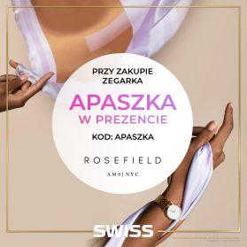 SWISS: PROMOCJA Z ZEGARKAMI ROSEFIELD