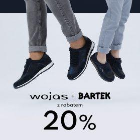 Zgarnij 20% rabatu na obuwie marki WOJAS i BARTEK
